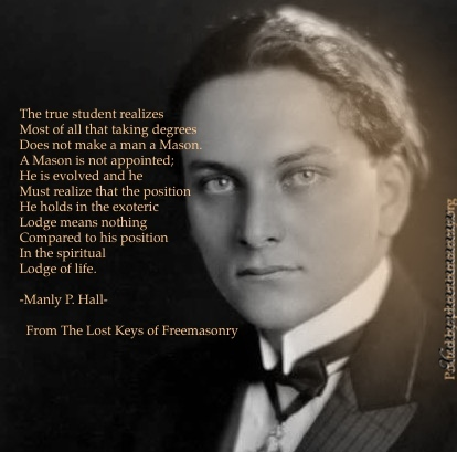 manley p hall The following article appeared in the march/april 2004 issue of atlantis rising magazine the author writes further about manly p hall in occult america (bantam) the inscrutable manly p hall the author of the secret teachings of all ages remains an enigma by.